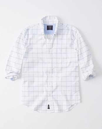 797773d1 Mens Oxford Shirts | Abercrombie & Fitch