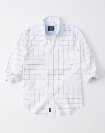 924dd5b20d9 Mens Dress Shirts | Abercrombie & Fitch