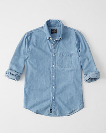 7a84602b87 Mens Chambray   Denim Shirts