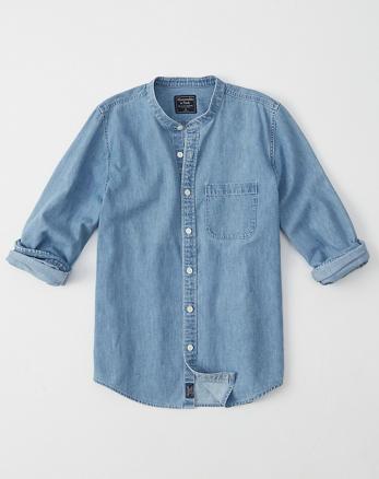 0398394f0e Mens Chambray   Denim Shirts