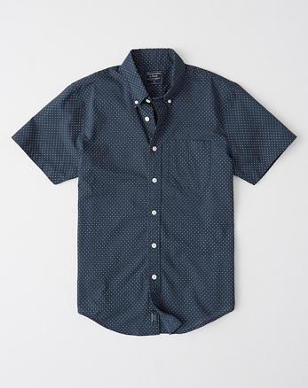 c9c5c56a1f1 Short-Sleeve Button-Up Shirt