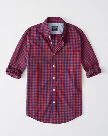 c6364d17cb Camisa de poplín con ícono de guinga