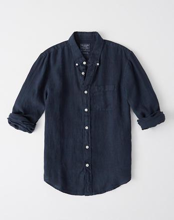 Mintgroen Heren Overhemd.Heren Overhemden Tops Abercrombie Com