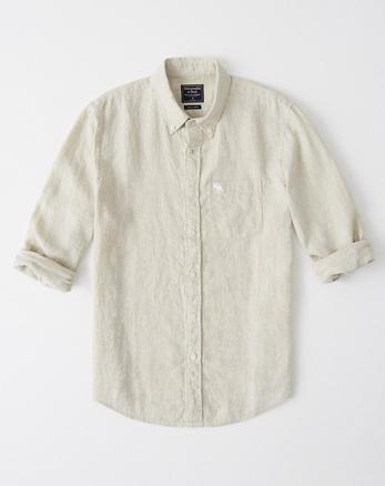17c178a667d Mens Linen Shirts