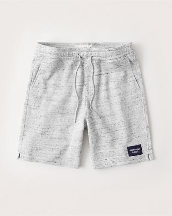 ANFFleece Patch Logo Shorts