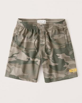 ANFLogo Fleece Shorts