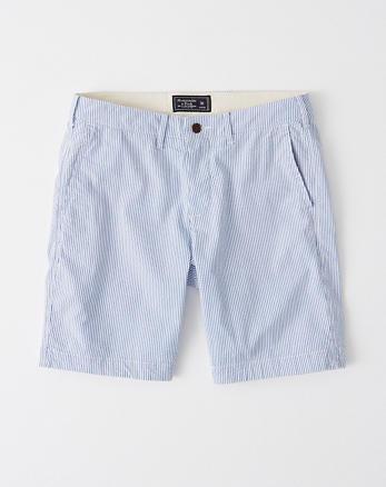 2e069a9176 Seersucker Plainfront Shorts