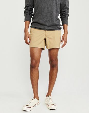 31bf814d0d Plainfront Shorts, KHAKI Plainfront Shorts, KHAKI, Alternate