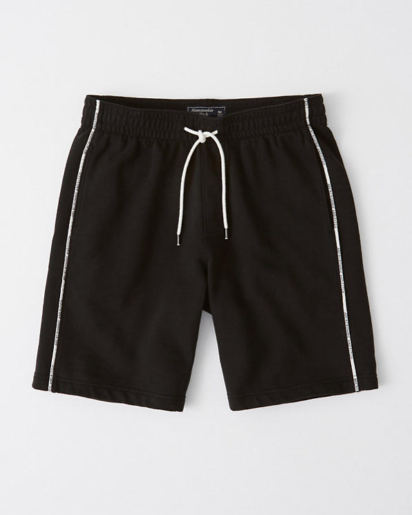17b0f520c0d8b Mens Logo Piping Shorts | Mens 30% Off Select Styles | Abercrombie.com