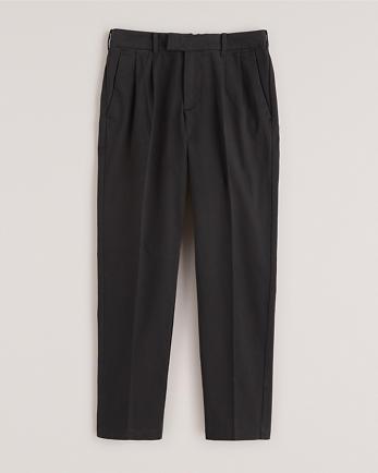 ANFPleated Sateen Skinny Pants