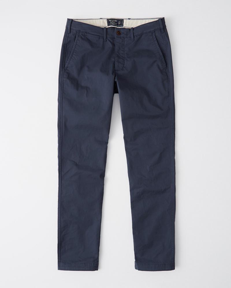 fbf2b2c1930c27 Uomo Pantaloni Chino Skinny | Uomo Pezzi di sotto | Abercrombie.com