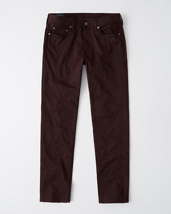 ANFSkinny Sateen Pants