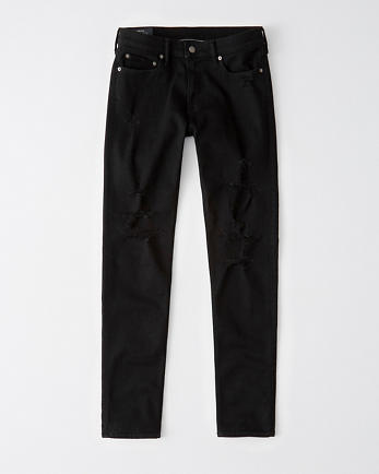 ANFNo-Fade Ripped Super Skinny Jeans