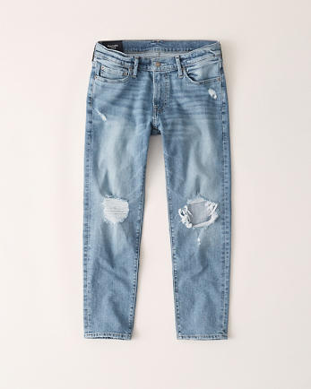 ANFRipped Skinny Crop Jeans