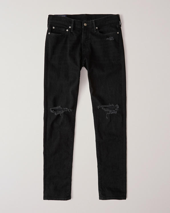 a56edd769c0 Mens Ripped Super Skinny Jeans   Mens Clearance   Abercrombie.com