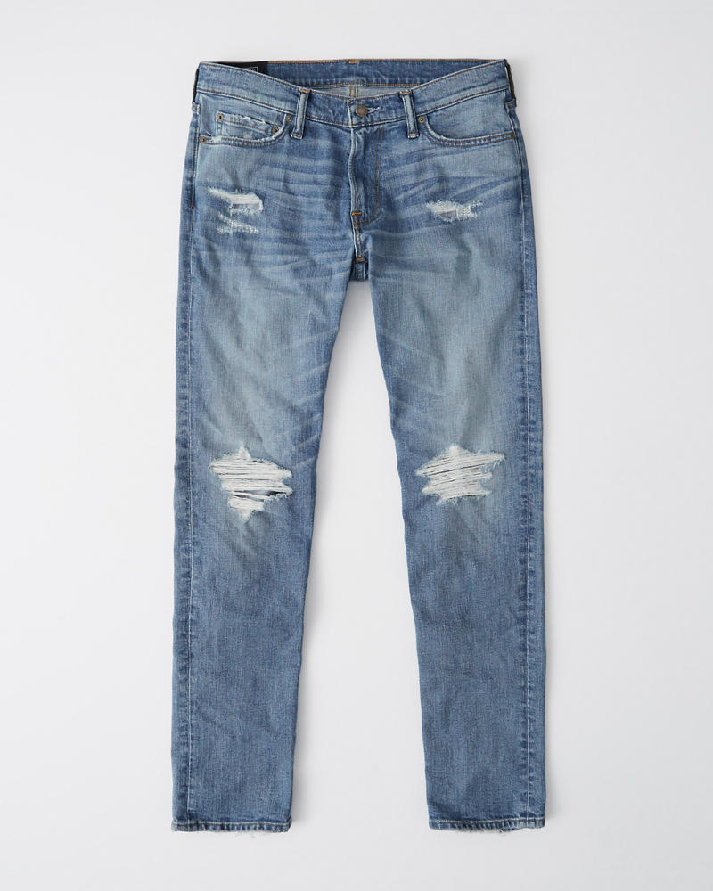 9bee680a917bd Ripped Skinny Jeans | Abercrombie.sg