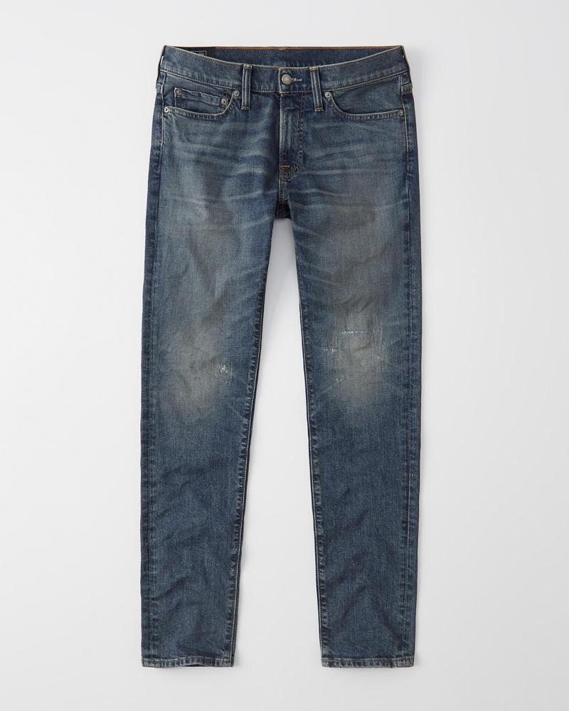 a9aa64ab2da Mens Distressed Super Skinny Jeans | Mens Bottoms | Abercrombie.com