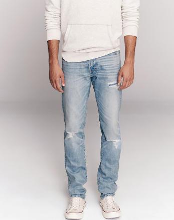 2de42772e10d1 Jeans slim homme   Abercrombie & Fitch