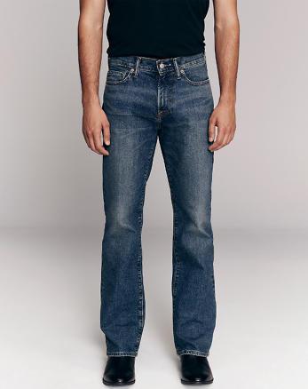 6c7a66cc2e5 Mens Bootcut Jeans | Abercrombie & Fitch