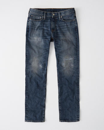 ANFRipped Straight Jeans