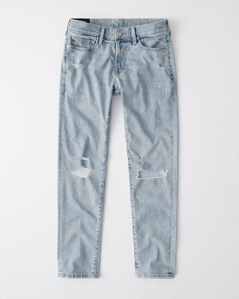 ANFRipped Skinny Taper Jeans