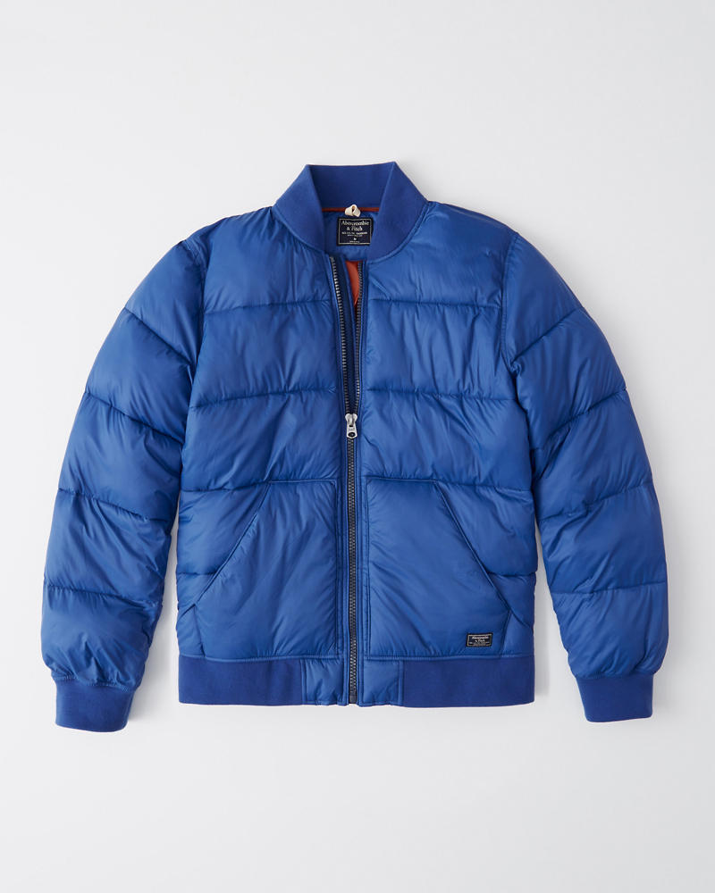 9cf190f816 Mens Puffer Bomber Jacket