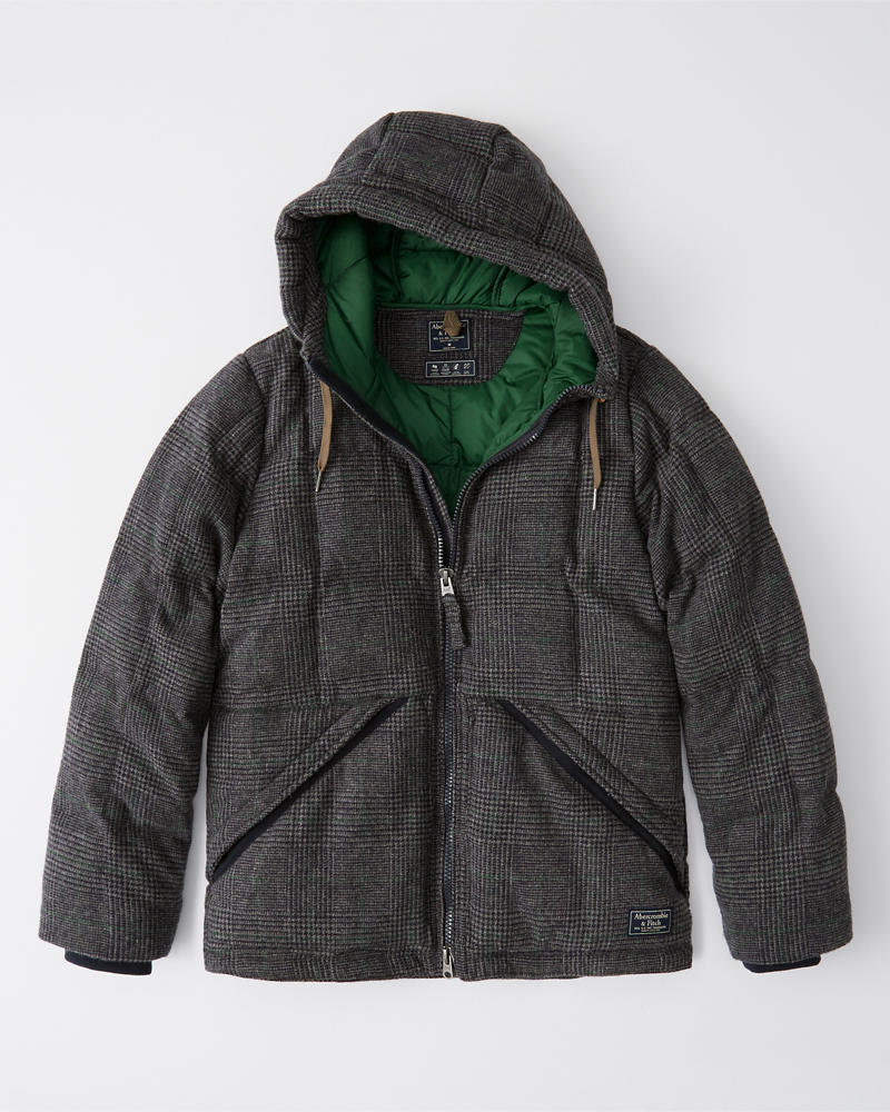 Wool Ultra Puffer by Abercrombie & Fitch