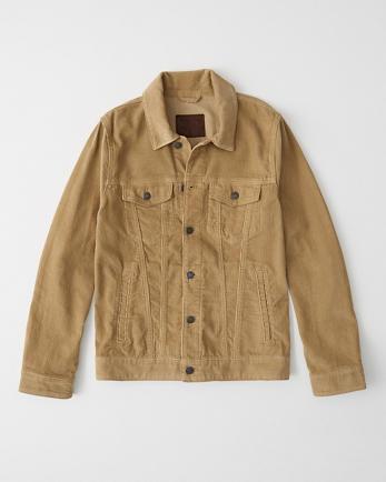 ANFCorduroy Trucker Jacket