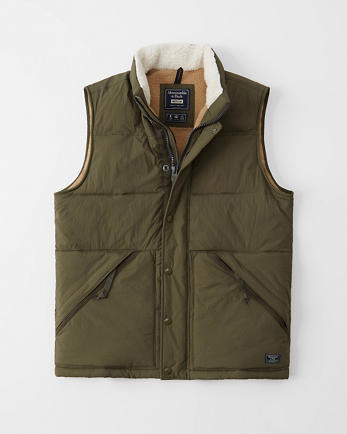 ANFSherpa-Lined Vest
