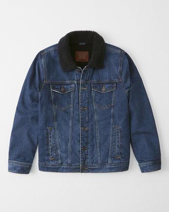 ANFSherpa Denim Jacket