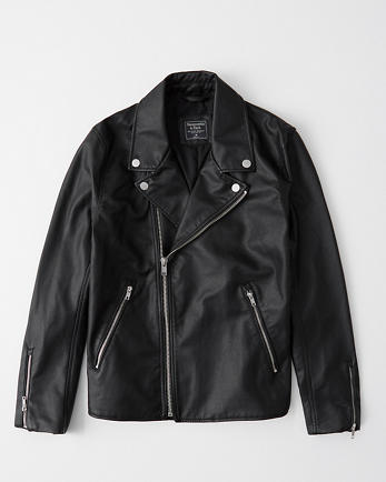 ANFFaux Leather Moto Jacket