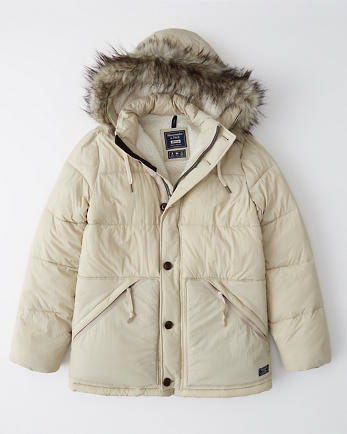 ANFSherpa-Lined Ultra Puffer