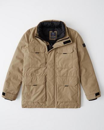 ANFPuffer Mock Jacket