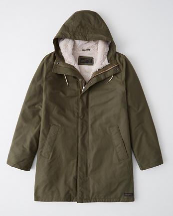 ANFFaux Fur Lined Parka