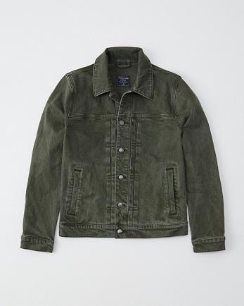 ANFGarment Dye Trucker Jacket
