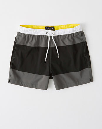 b382c5ff90 Classic Trunks, BLACK AND GREY COLORBLOCK