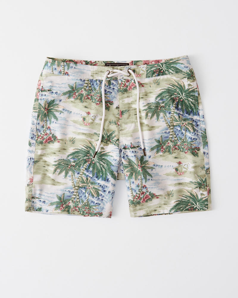 Classic Swim Shorts by Abercrombie & Fitch