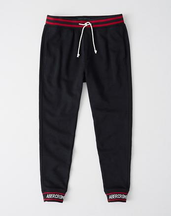 06e7f189d7985b Uomo Pantaloni di Felpa Jogger | Abercrombie & Fitch