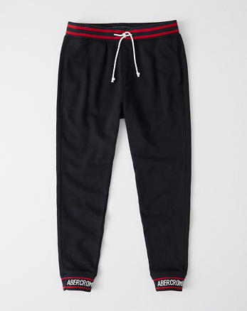 Leger Joggingbroek.Joggingbroeken Abercrombie Fitch