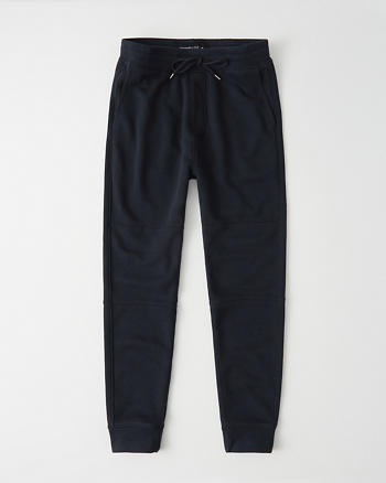Textured Fleece Joggers by Abercrombie & Fitch