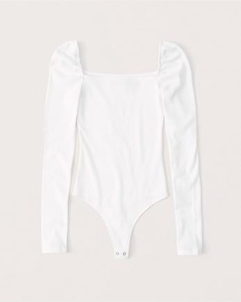 ANFPuff Sleeve Bodysuit