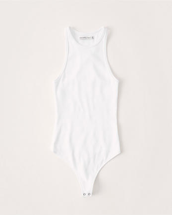 ANFHigh-Neck Bodysuit