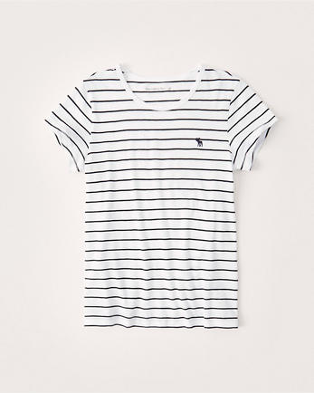 ANFCrew Striped Icon Tee