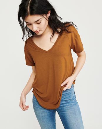 cb6a9e6a Womens T-Shirts & Tank Tops | Abercrombie & Fitch