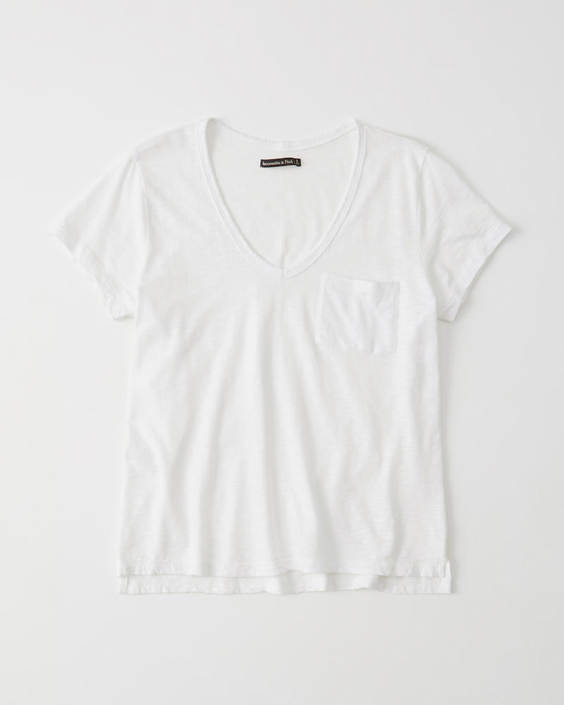 02f02c6a9f Mujer Camiseta holgada con cuello en V