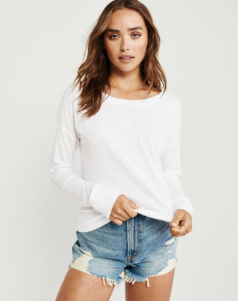 029538bf Womens T-Shirts & Tank Tops | Abercrombie & Fitch