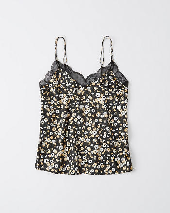 Womens Lace Cami Top Simply Be