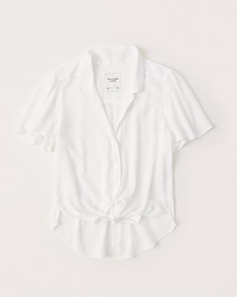 ANFFlutter-Sleeve Top