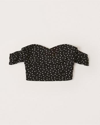 ANFOff-The-Shoulder Slim Top