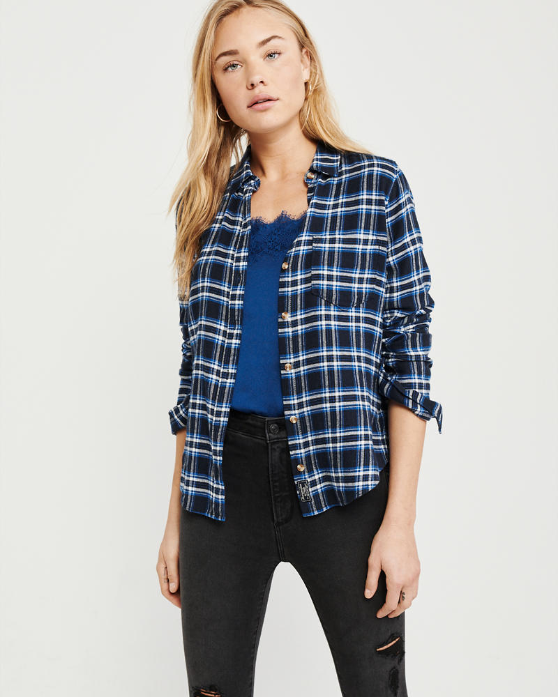 Womens Shirts Blouses Clearance Abercrombie Fitch